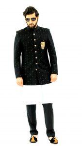 Black Embroidred Jacket