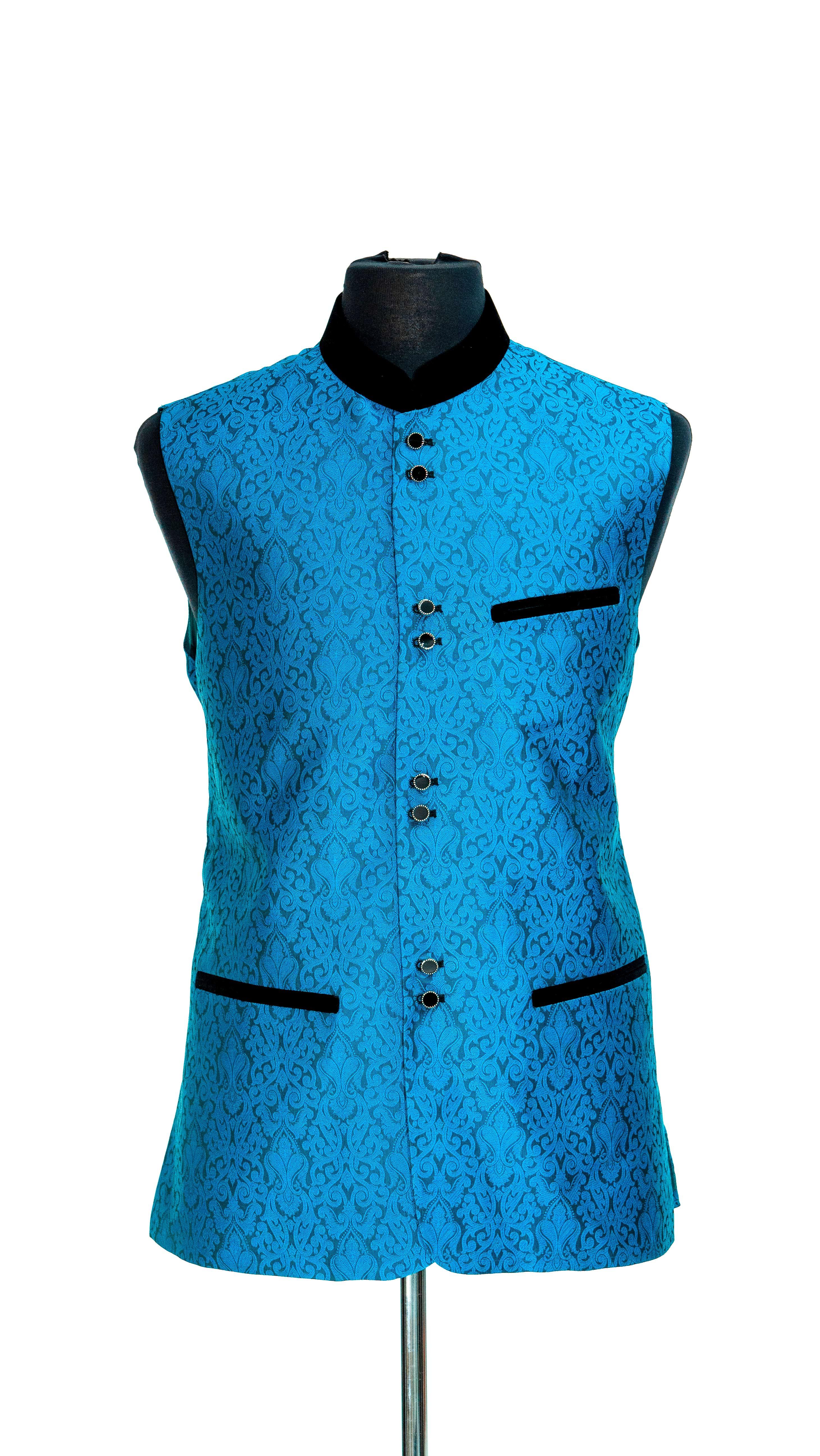 BlueAzureWaistcoats-ADAMBAKSH